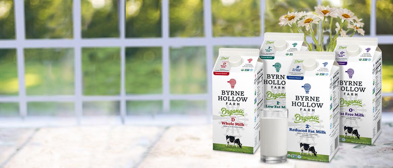 Fresh Milk, Yogurt, Cream, Dairy Products - Byrne Dairy